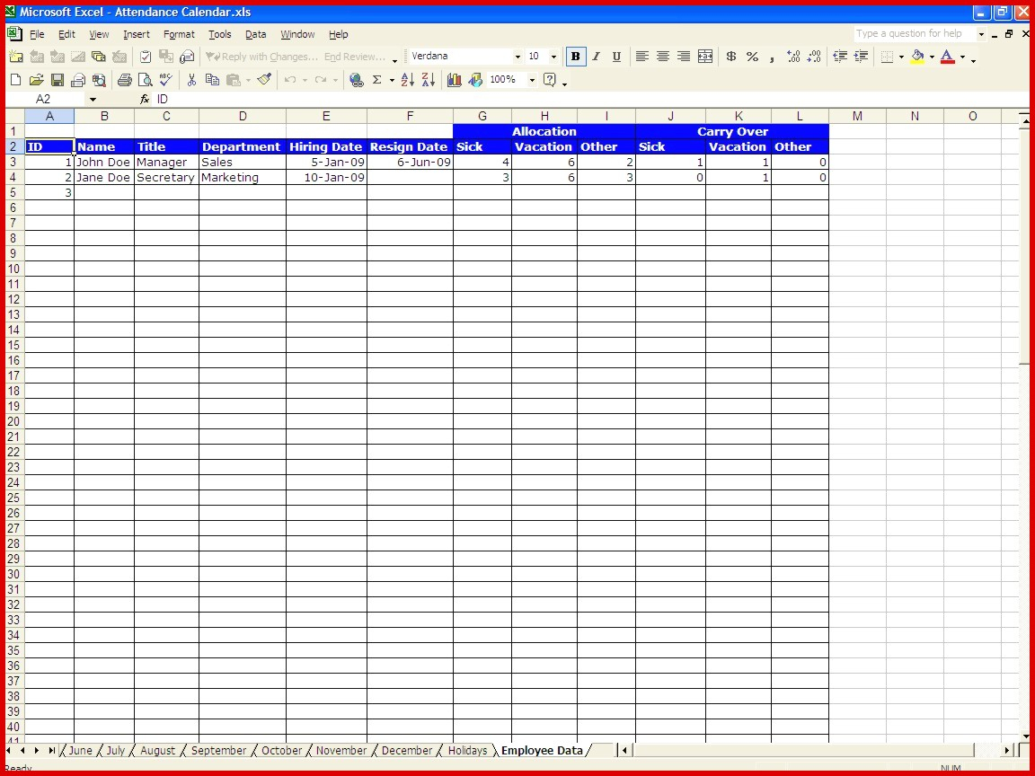 Absence Tracking Spreadsheet With Regard To Beautiful Absence Tracking Spreadsheet Excel  Wing Scuisine
