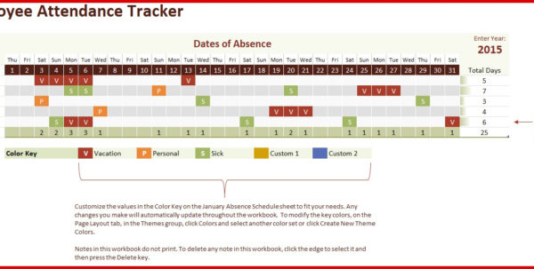Absenteeism Tracking Spreadsheet In Beautiful Absence Tracking Spreadsheet Excel  Wing Scuisine