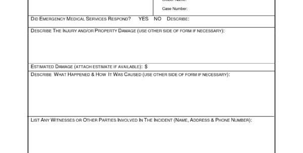 Accident Frequency Rate Spreadsheet With Incident Reporting Policy And Procedure Template  Glendale