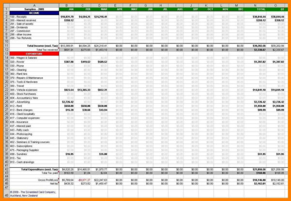 Accounting Spreadsheet Google Docs With 7  Google Docs Bookkeeping Templates  Managementoncall