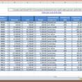 Accounts Payable Spreadsheet Example Pertaining To Example Of Accountseceivable Spreadsheet Template