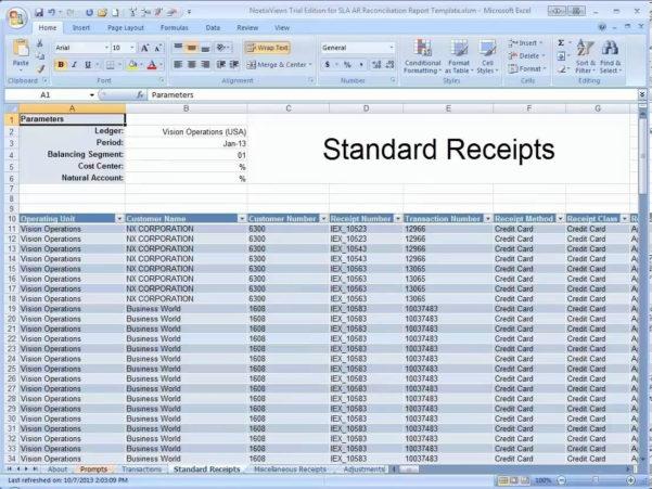 Accounts Receivable Spreadsheet Template Intended For Example Of Accountseceivable Spreadsheet Template