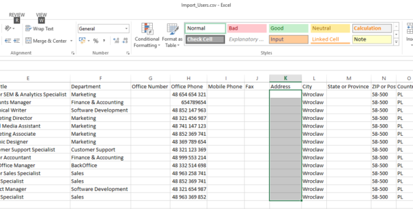 Active Directory User Attributes Spreadsheet In How To Export Users From Active Directory  Admin's Blog