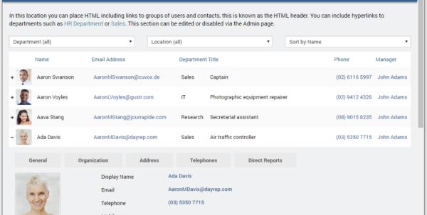 Active Directory User Attributes Spreadsheet Inside Active Directory Phonebook