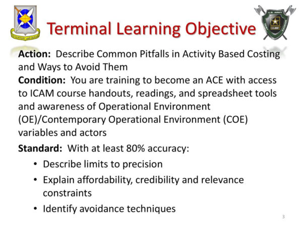 Activity Based Costing Spreadsheet With Regard To Describe Common Pitfalls In Activity Based Costing  Ppt Download
