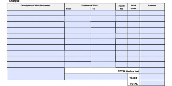 Adobe Spreadsheet Regarding Consultant Invoice Template Free Adobe Pdf Microsoft Word Doc