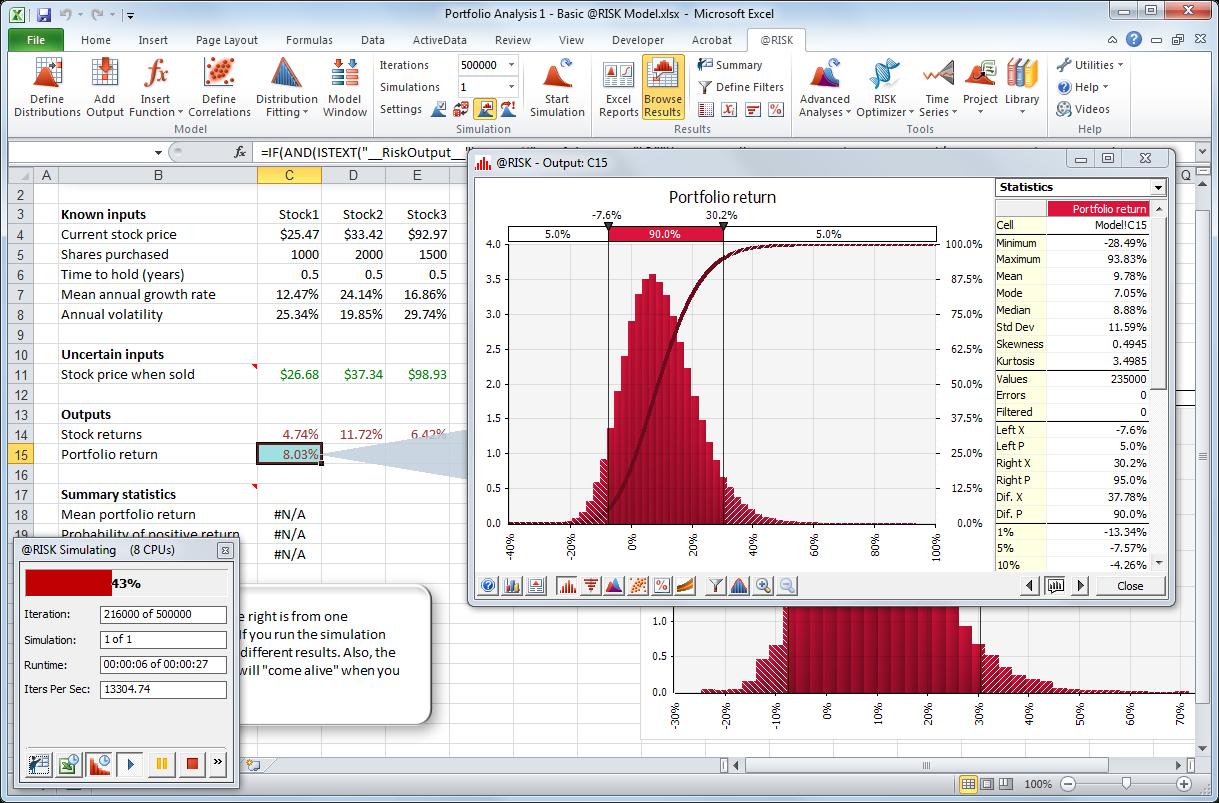 Advanced Spreadsheet Modeling In 우림텍 Risk