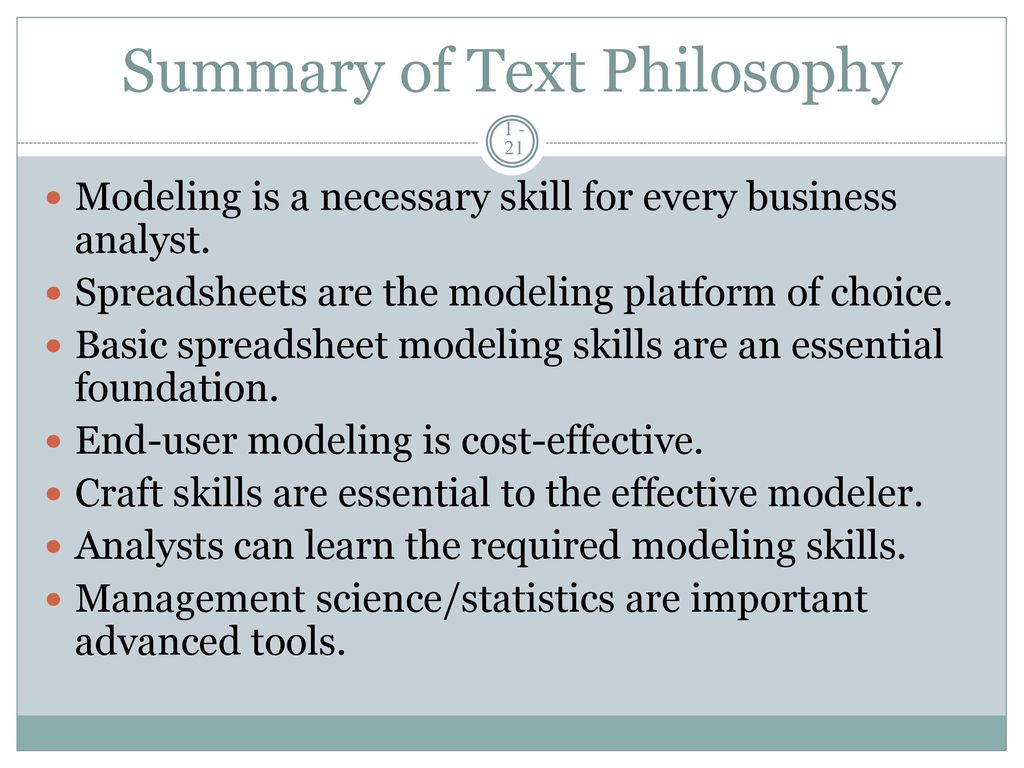 Advanced Spreadsheet Modeling Intended For Management Science: The Art Of Modeling With Spreadsheets, 3E  Ppt