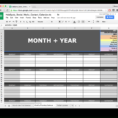 Advertising Spreadsheet Intended For 10 Readytogo Marketing Spreadsheets To Boost Your Productivity Today