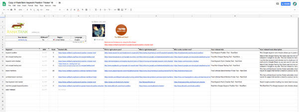 Affiliate Marketing Spreadsheet Pertaining To Completely Free Serp Checker Tools For Affiliate Marketers