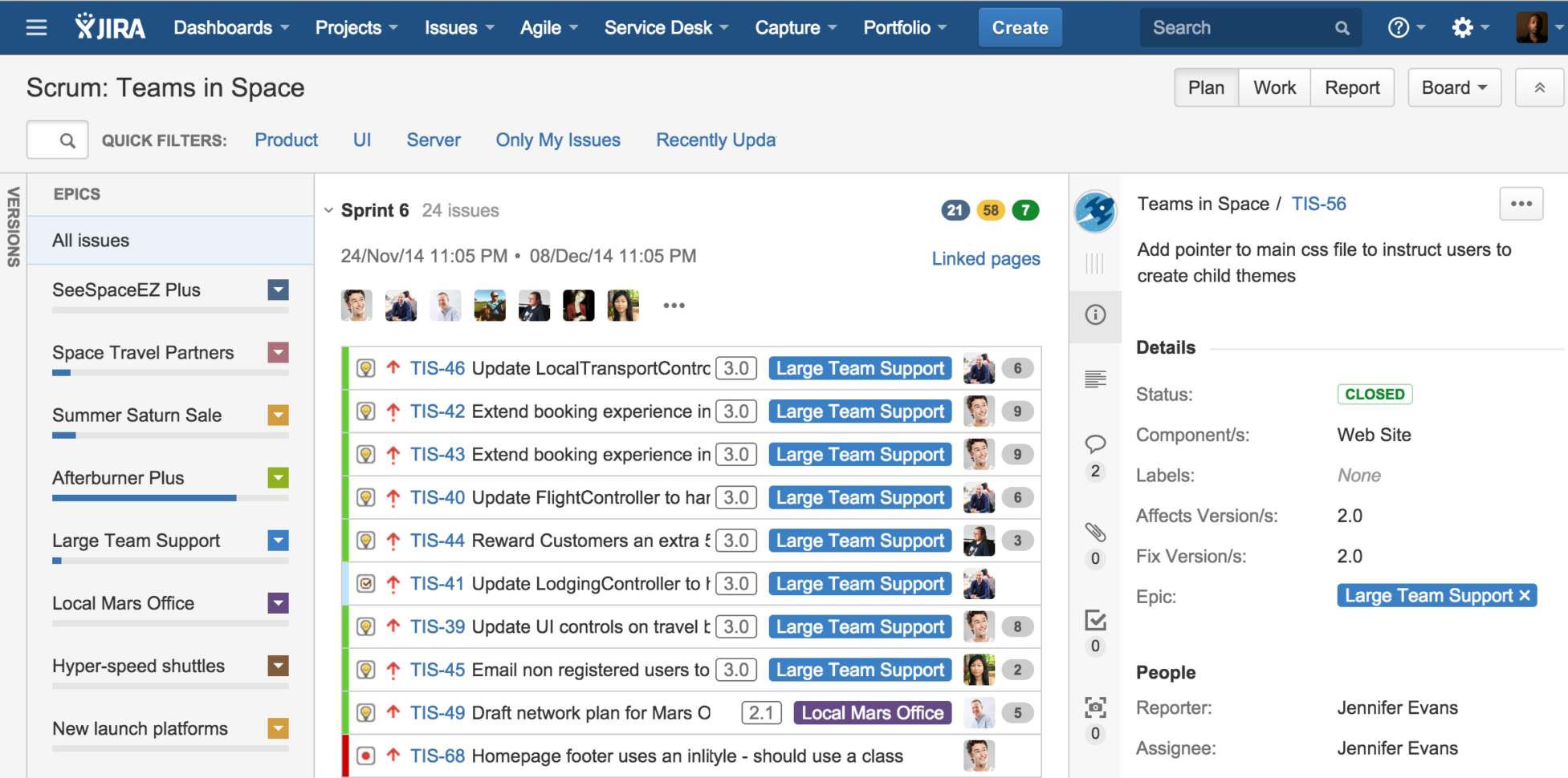 Agile Capacity Planning Spreadsheet Throughout Inside Atlassian: Four Steps To Better Sprint Planning  Atlassian Blog
