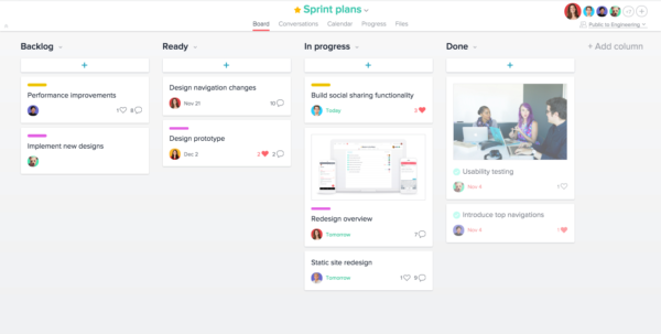 Agile Sprint Tracking Spreadsheet Regarding Sprint Planning With Asana  Product Guide · Asana
