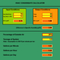 Air Compressor Sizing Spreadsheet Intended For Revised Air Conditioner Condensate Calculator Available On