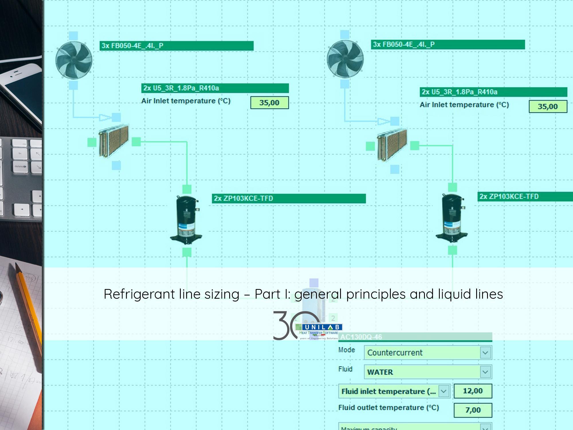 Air Compressor Sizing Spreadsheet Regarding Refrigerant Line Sizing – Part I: General Principles And Liquid