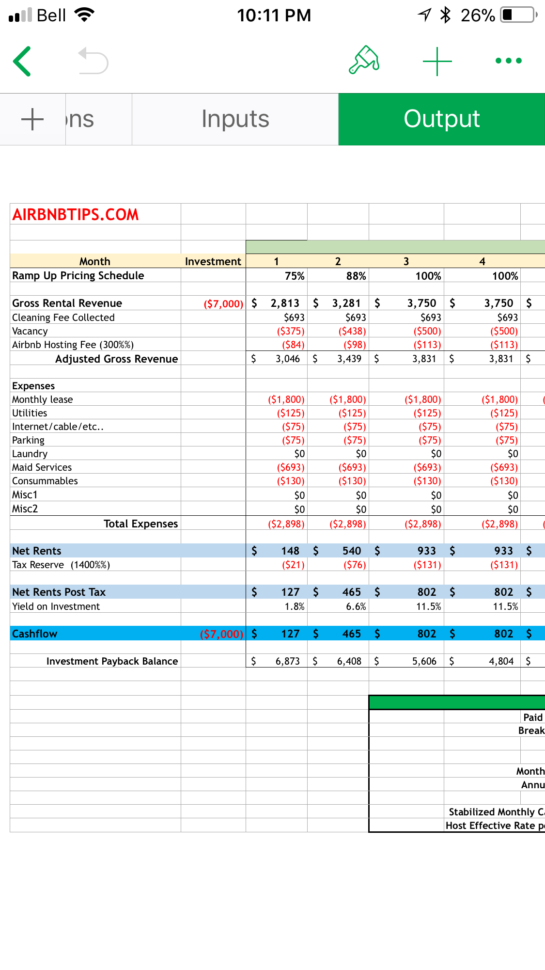 Airbnb Spreadsheet With Nice Spreadsheet In Time For The Cra Paypal Order Canada  Tools