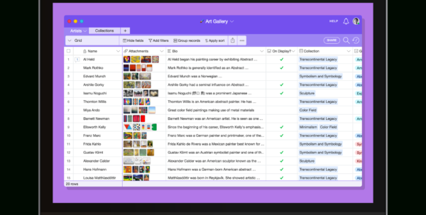 Airtable Spreadsheet Within Product  Airtable