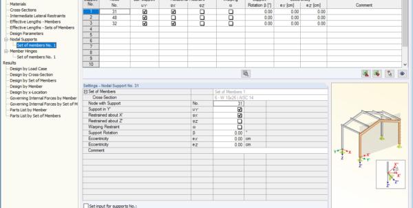 Aisc Crane Beam Design Spreadsheet With Regard To Steel Aisc: Steel Design Acc. To Ansi/aisc 360  Dlubal Software