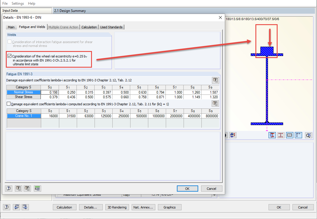 Aisc Crane Beam Design Spreadsheet Within Structural Analysis  Design Software For Cranes And Craneways