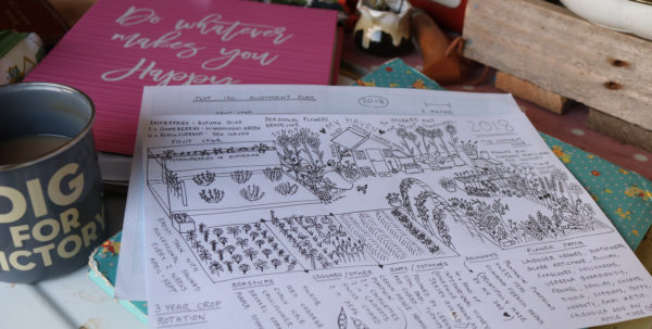 Allotment Growing Calendar Spreadsheet Regarding Plot 15C Plan 2018 – Layout, Fruit And Vegetables  Lavender And