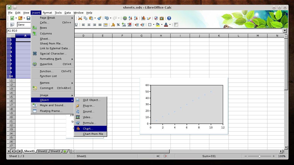 Alternative To Excel Spreadsheet With Regard To 4 Spreadsheet Alternatives To Ms Excel  Tuxarena