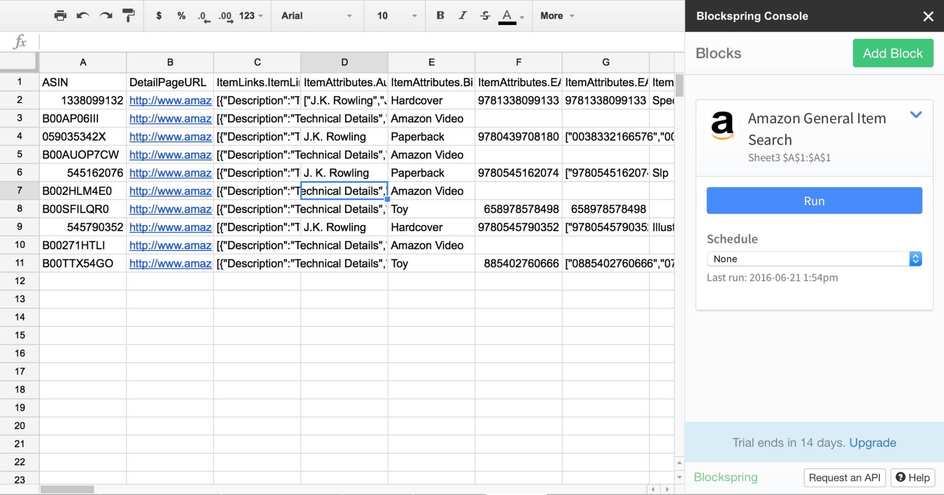 Amazon Product Research Spreadsheet Regarding 50 Google Sheets Addons To Supercharge Your Spreadsheets  The