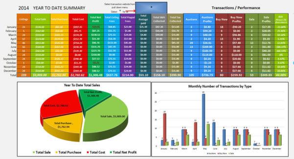 Amazon Profit Spreadsheet Pertaining To Myprofits2.0  Ebay And Amazon Sales And Profit Tracking Spreadsheet