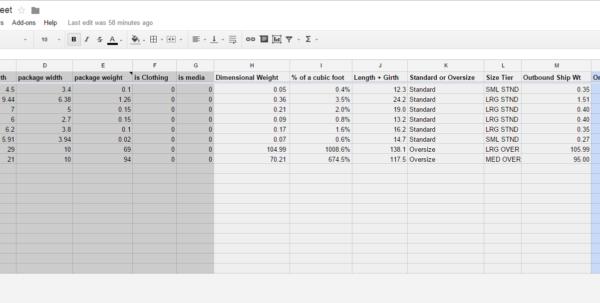 Amazon Seller Spreadsheet Inside Fba Fee Bulk Calculator In Excel For Us And Uk