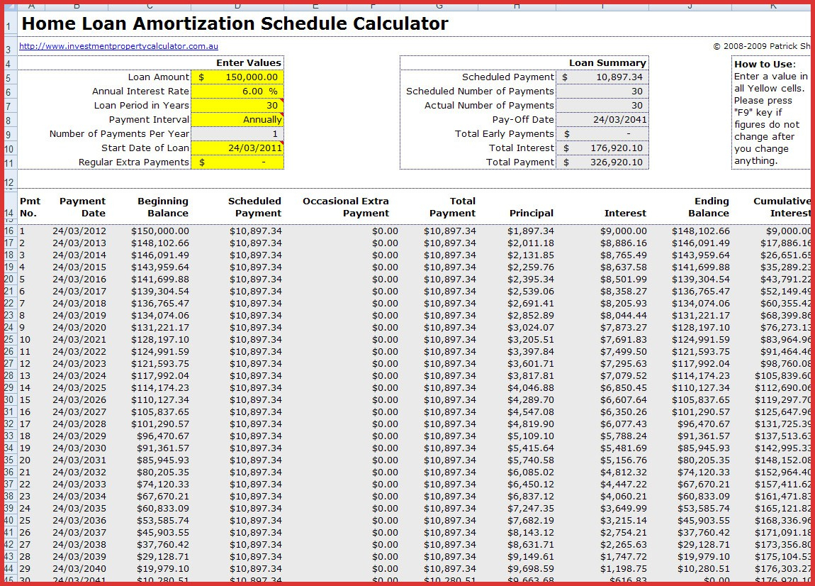 Amortization Schedule Mortgage Spreadsheet For Amortization Spreadsheet Excel Schedule With Extra Payments Free Car