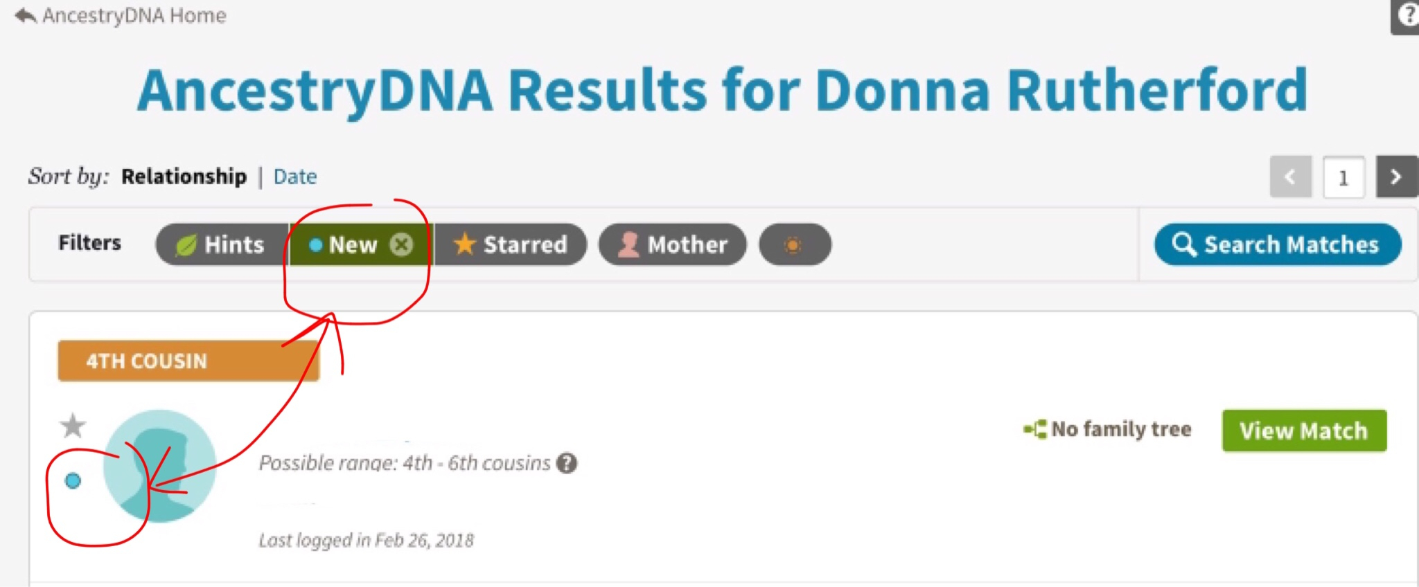 Ancestry Dna Spreadsheet Inside Searching, Sorting And Filtering Your Dna Matches – Donna Rutherford