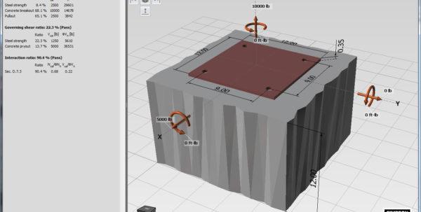 Anchor Block Design Spreadsheet Within New Simpson Strongtie Anchor Designer Software  Simpson Strongtie