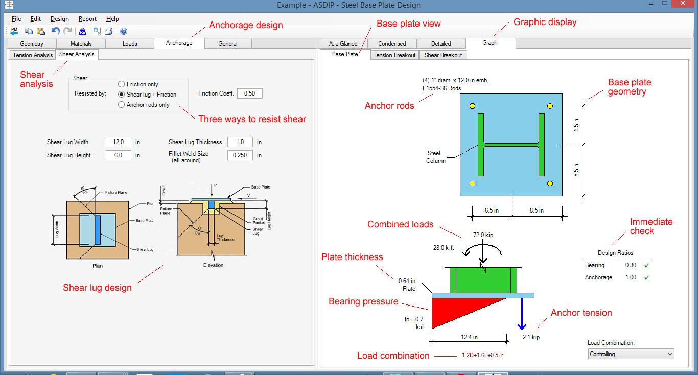 Anchor Bolt Design Spreadsheet In Sheet Anchor Bolt Design Spreadsheet Fresh Asdip Steel Structural