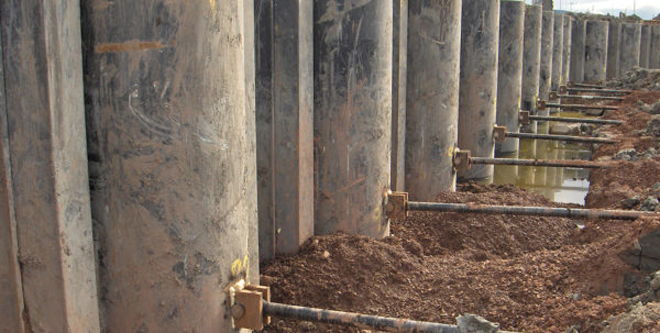 Anchored Sheet Pile Wall Design Spreadsheet Throughout Tie Rods For Marine Structures  Anker Schroeder  En Anchored Sheet Pile Wall Design Spreadsheet Google Spreadsheet