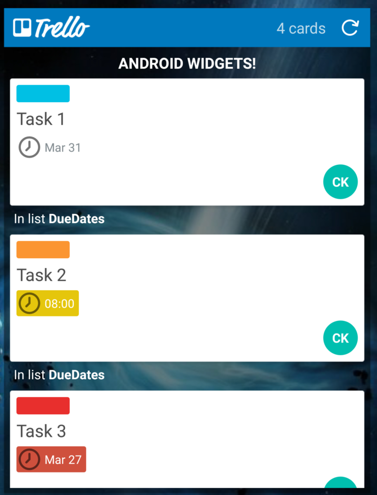 Android Spreadsheet Widget Within Trello For Android Widgets  Trello Help
