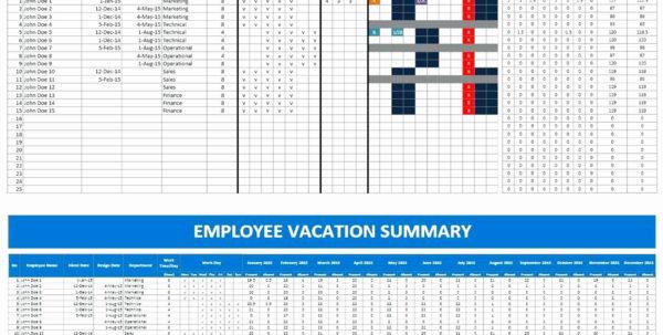 Annual Leave Spreadsheet 2018 Inside Excel Pto Tracker Template Luxury Free Annual Leave Spreadsheet