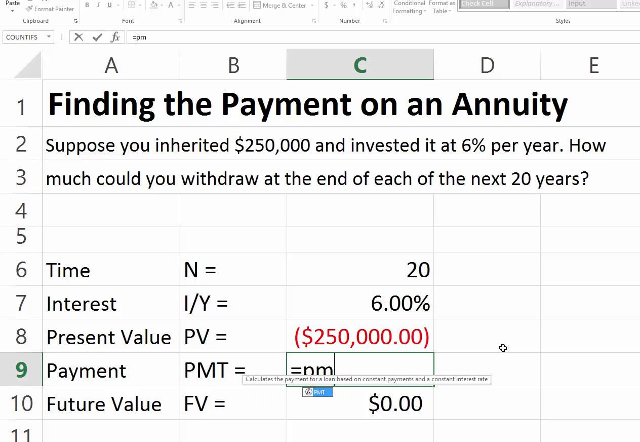 Annuity Calculator Excel Spreadsheet For Example Of Annuity Calculator Spreadsheet Calculate An Annual