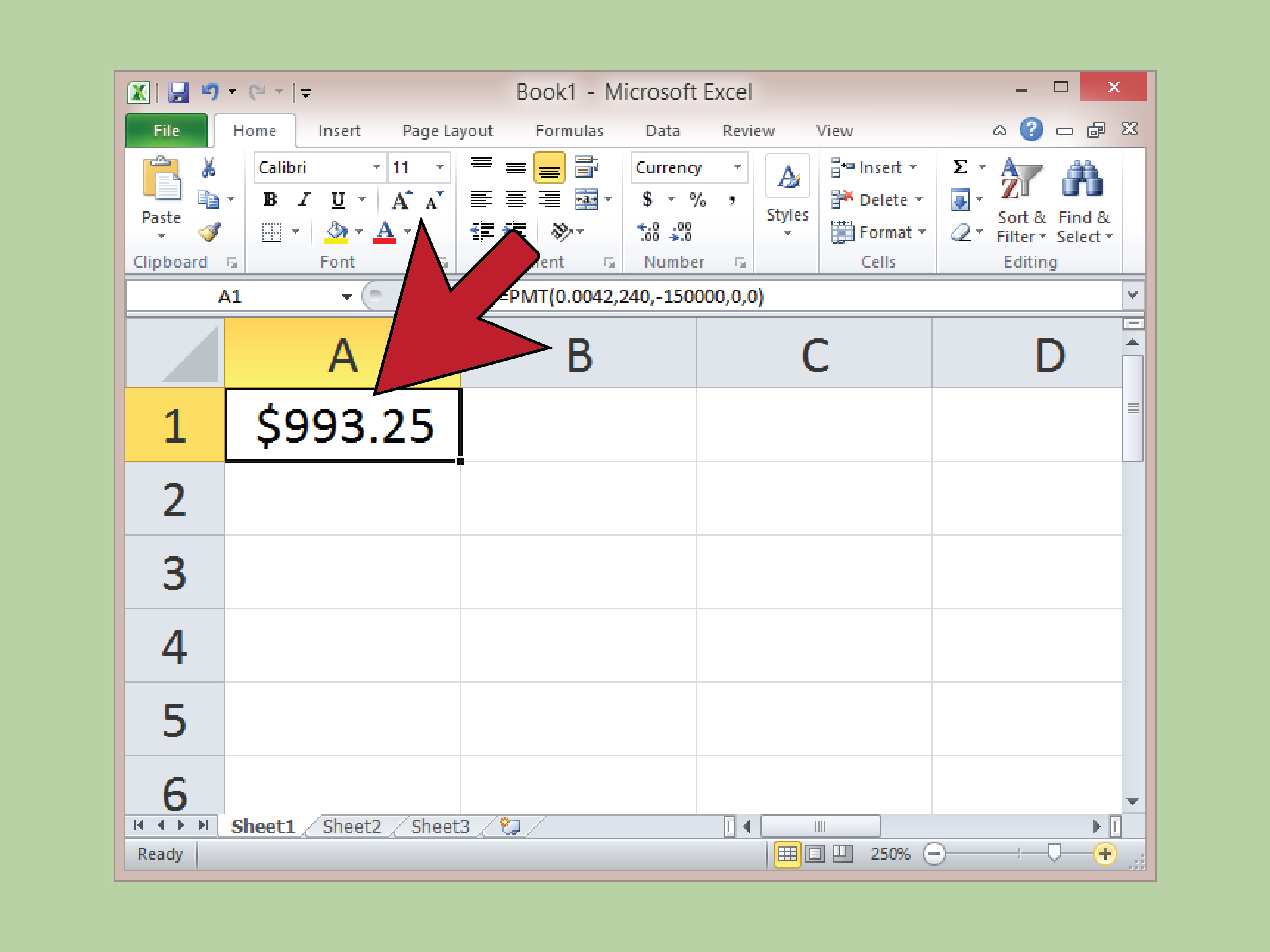 Annuity Calculator Excel Spreadsheet Inside 3 Ways To Calculate Annual Annuity Payments  Wikihow