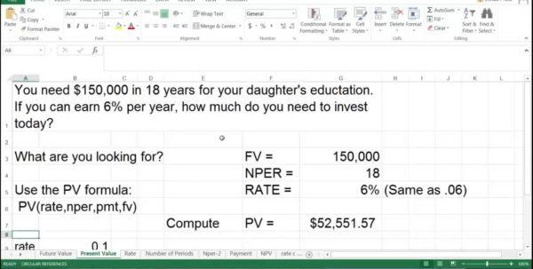Annuity Calculator Excel Spreadsheet Throughout Example Of Annuity Calculator Spreadsheet Maxresdefault Finance