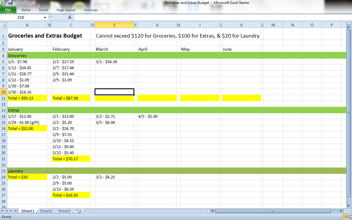 Apartment Make Ready Spreadsheet Throughout How To Keep Track Of Your Monthly Expenses  My First Apartment