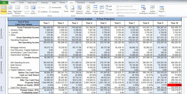 Apartment Valuation Spreadsheet Intended For Property Evaluator Spreadsheet Rentaltion Free Roi Investment