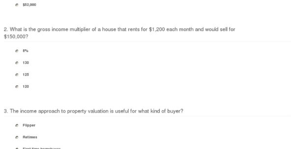 Apartment Valuation Spreadsheet Intended For Quiz  Worksheet  Income Approach To Property Valuation  Study