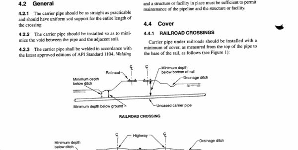 Api 1102 Calculation Spreadsheet Intended For Api 1102 Pipelines Crossing Railroad Highways.pdf