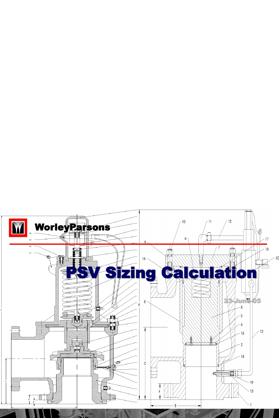 Api 520 Psv Sizing Spreadsheet In 124479095 Psv Calculation Ppt  [Pdf Document]