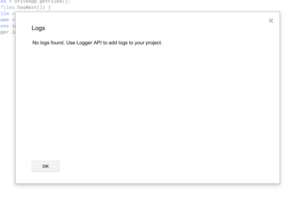"Api Enabled Spreadsheet Pertaining To How Do I ""use Logger Api To Add Logs To Your Project""? Google"