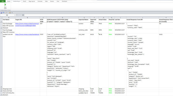 Api Enabled Spreadsheet With How To Build A Free, Scalable Api Testing Solution With Microsoft