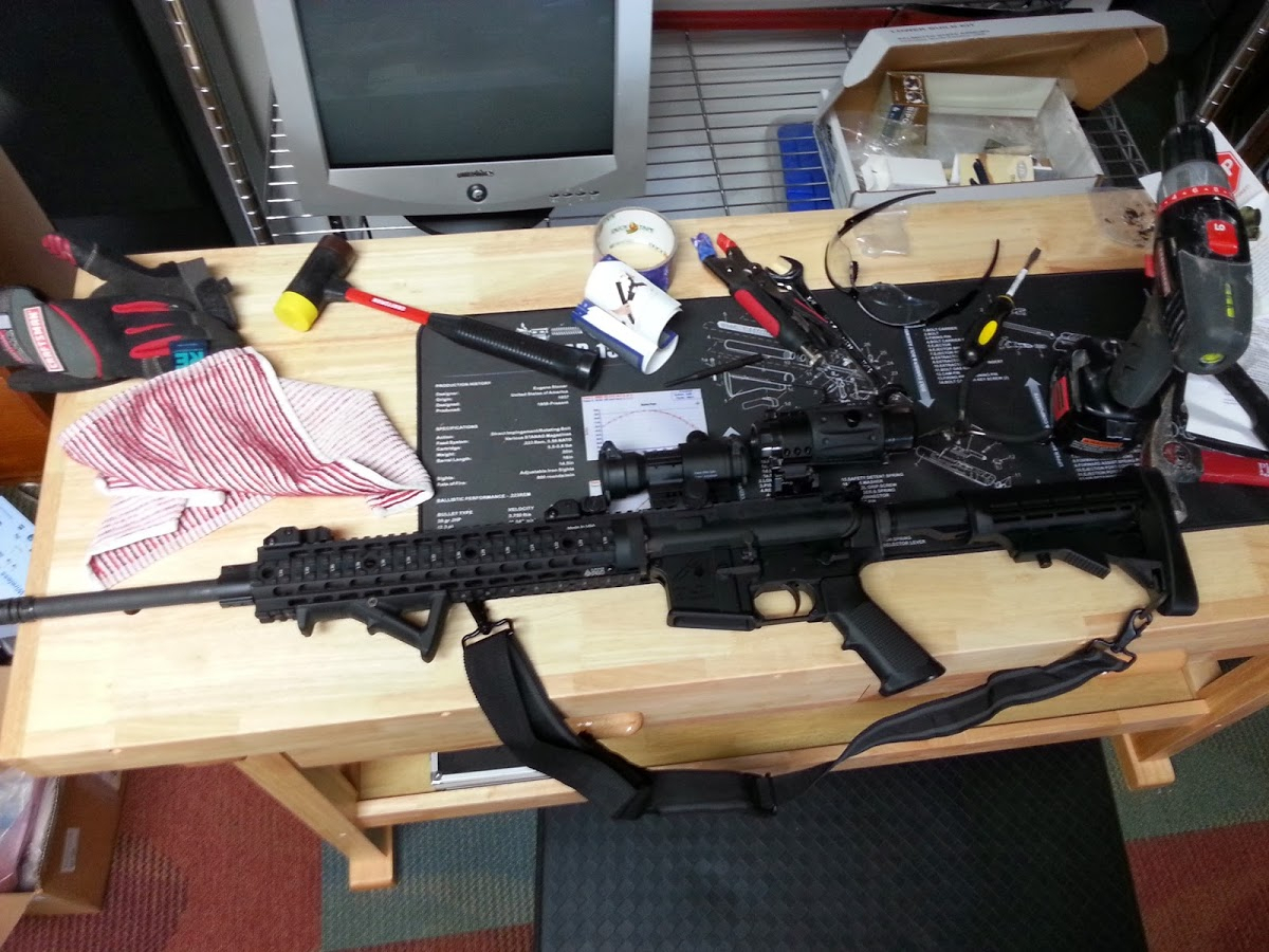 Ar 15 Parts List Spreadsheet In Build An Ar15 Rifle Shopping / Parts List, My First Diy With Prices