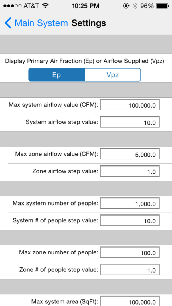 Ashrae 62.1 2013 Ventilation Calculator Spreadsheet Inside Carmel Software Corporation  Ashrae Hvac 62.1 Ios App