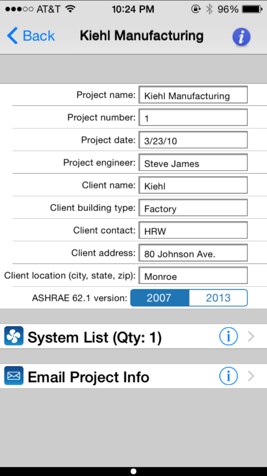 Ashrae 62.1 2013 Ventilation Calculator Spreadsheet Pertaining To Carmel Software Corporation  Ashrae Hvac 62.1 Ios App Ashrae 62.1 2013 Ventilation Calculator Spreadsheet Printable Spreadshee