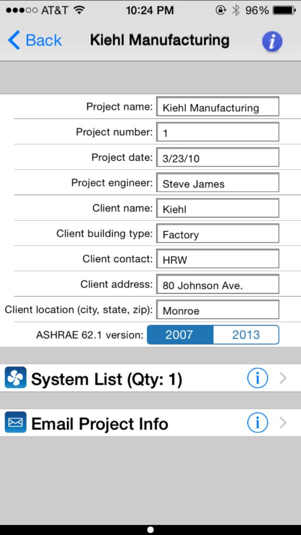 Ashrae 62.1 2013 Ventilation Calculator Spreadsheet Pertaining To Carmel Software Corporation  Ashrae Hvac 62.1 Ios App