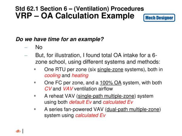 Ashrae 62.1 Ventilation Spreadsheet With Ashrae Stsdddddsd Update Standard  Ppt Download
