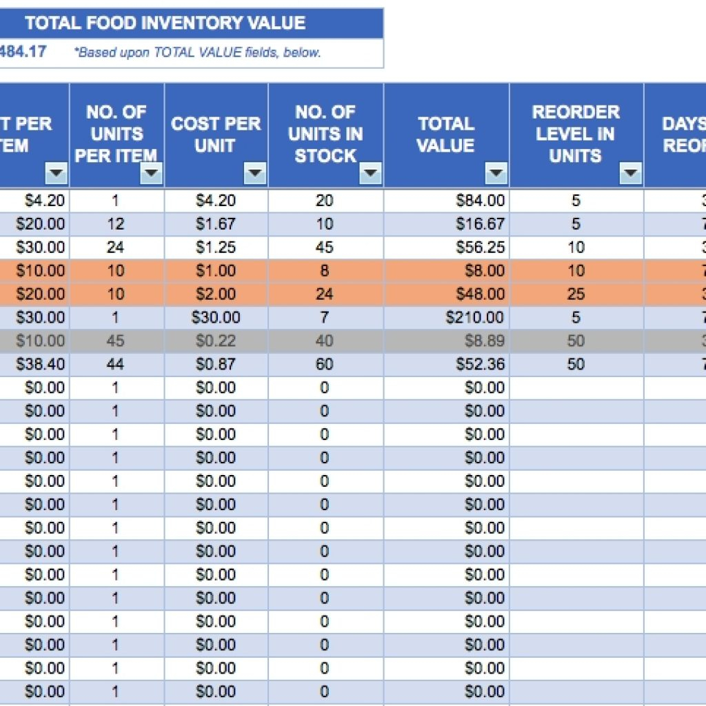 Asset Tracking Spreadsheet Template In Asset Tracking Spreadsheet Free Excel Inventory Templates In Invoice